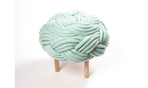 Вязанная мебель от Клэр-Энн