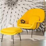 Неожиданное жёлтое кресло в интерьере; 10 примеров с фото