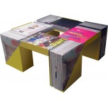 Журнальный столик из журналов