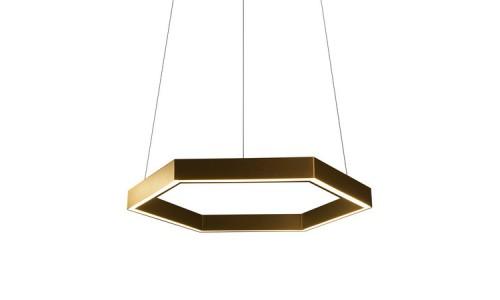 Hex 750 Подвесной светильник в форме шестигранника на светодиодах
