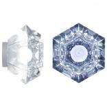 Настенный светильник в форме кристалла из поликарбоната