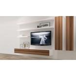 Парящие подставки под телевизор в стиле минимализм
