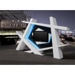 Современные дизайнерские стойки под телевизор - интересные фото-примеры