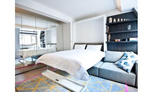 Как экономить место в небольшой квартире - примеры мебели двойного назначения