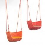Подвесной садовый стул и качели Seal от Paola Lenti