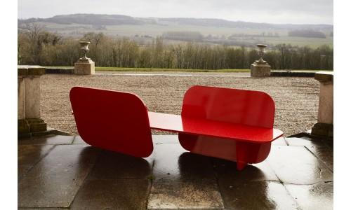 Алюминиевая скамья для красного сада от ЛаЧэнс