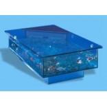 Настольный кофейный столик-аквариум от Aqua Дизайн