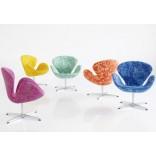 Лебединое кресло и диван от Арне Якобсена