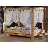 Кровать из бамбука от студии High Touch