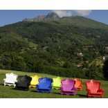 Садовый стул в стиле итальянского барроко