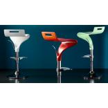 Регулируемые поворотные барные стулья Concord