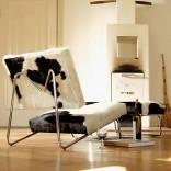 Кресло-Lounge на стальной раме