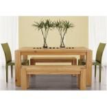 Обеденный стол из массива натуральной древесины