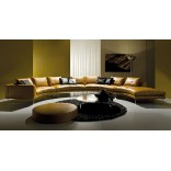 Идеальные диваны для общения - изогнутые и двусторонние