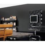 Современный стенд для телевизора из гладкого пластика