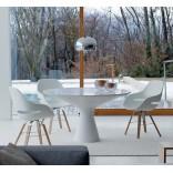 Современный белый обеденный стол разработан от Занотти