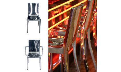 Алюминиевые стулья из переработанного сырья