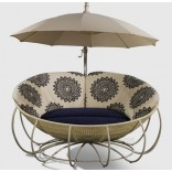 Дизайнерский диван для улицы от Fendi Casa
