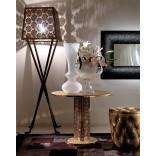 Журнальный столик в металле с кристаллами Сваровски от фирмы Fiorentino