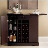 Современный бар-кабинет от фирмы Crate и Barrel