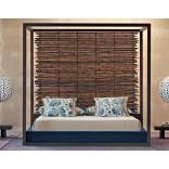 Кровать из бамбука от Gervasoni