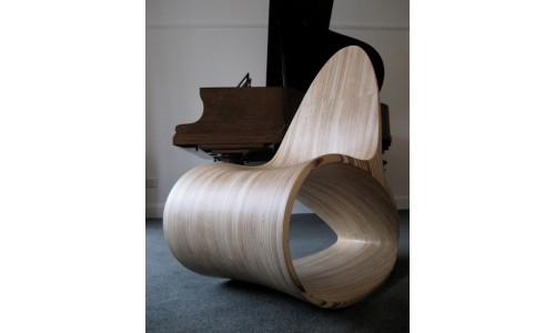 Берёзовые стулья от дизайнеров Jolyon Yates
