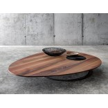 Большой журнальный столик из твердых сортов древесины
