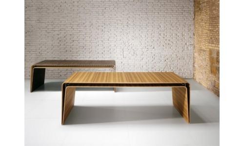 Минималистичный деревянный стол от фирмы Haworth