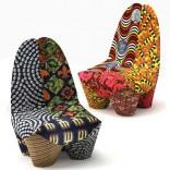 Кресло Мароко Бинта, вдохновленное Африкой