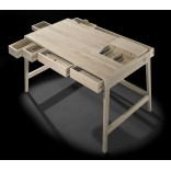 Массивный деревянный стол от Wewood, без клея или шурупов