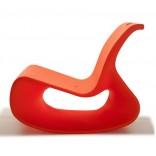 Оранжевое кресло-лаунж