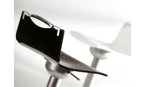 Металлический трансформируемый обеденный стул