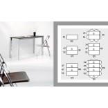 Раздвижной консольный стол от Оззио