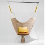 Подвесное плетеное кресло-гамак
