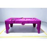 Розовый бильярдный стол Марселя Вандерса