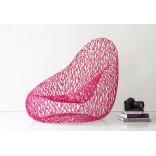 Самое необычное кресло в оттенках розового