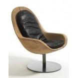 Деревянное кресло Креус