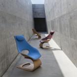 Кресло скульптурной формы от Карла Хенсена