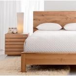Дубовая кровать от Crate и Barrel
