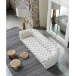 Исключительный стеганный кожаный диван и кресло от Baxter