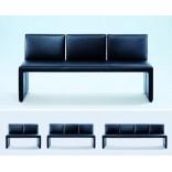Кожаная дизайнерская скамья из Витманна; красота в простоте