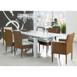 Новые тенденции в дизайне столовой мебели