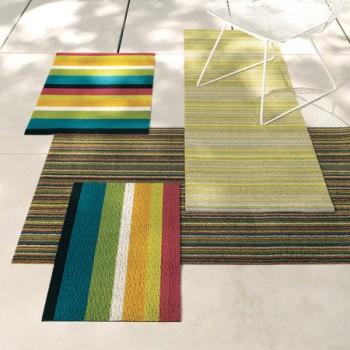 Полосатый коврик разных расцветок