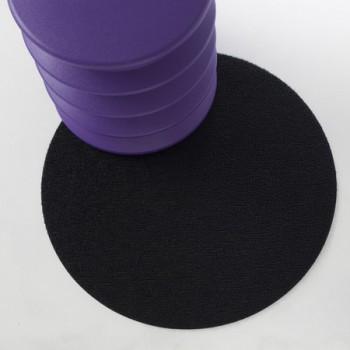 Dot Shag круглые напольные коврики для пола