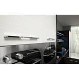 Кухня в стиле черно-ьелого минимализма