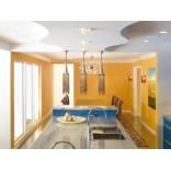 Голубая цветовая гамма для кухни от дизайнера Alia Meyer