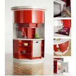 Компактные полукруглые кухни