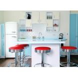Как оформить кухню в ретро стиле