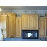 Идеи декорирования кухонных шкафов