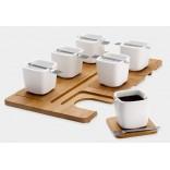 Набор квадратных чашек для кофе